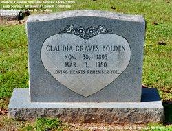 Claudia Adelaide <i>Graves</i> Bolden