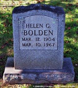 Mary Helen <i>Graves</i> Bolden
