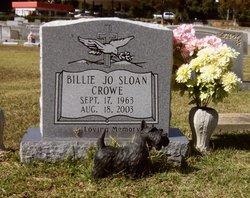 Billie Jo <i>Sloan</i> Crowe
