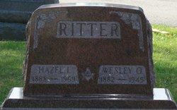 Hazel Ione <i>Burdge</i> Ritter