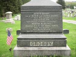 Martha <i>Howes</i> Crosby