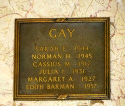 Edith Anna Belle <i>Gay</i> Barman