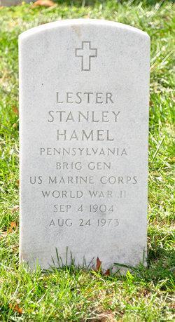 Gen Lester Stanley Hamel