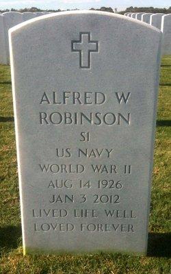 Alfred W Robinson