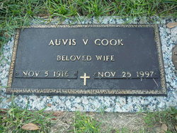 Auvis Virginia <i>Hunt</i> Cook