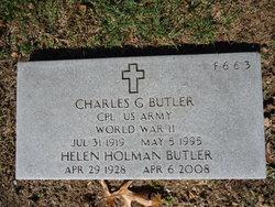 Charles G Butler