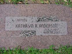 Julia Kathryn <i>Reed</i> Anderson