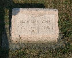 Lelah Mae Asher