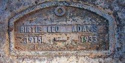 Birtie Leo Adams