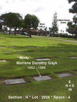 Marlene Dorothy Mindy Gayk