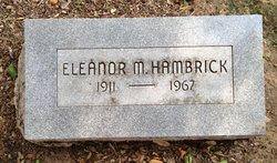 Eleanor M Hambrick