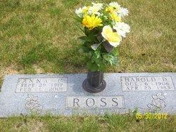 Anna C. <i>Harlan</i> Ross