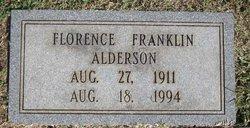 Florence <i>Franklin</i> Alderson