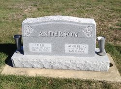 Adolph G Anderson