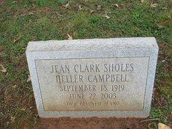 Jean Clark <i>Sholes</i> Campbell