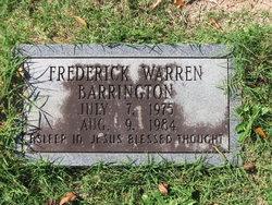 Frederick Warren Barrington