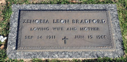 Zenobia Leon Nobie <i>Reed</i> Bradford