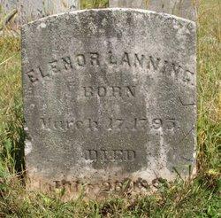 Elenor <i>Shafer</i> Lanning