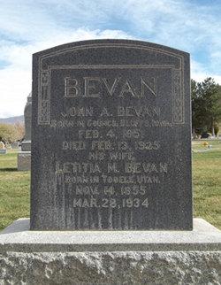 Letitia McIntyre <i>Kelsey</i> Bevan