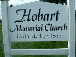 Hobart Memorial Church Cemetery