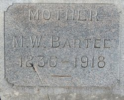 Martha W. <i>Christian</i> Bartee