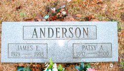 Patsy A <i>Rhodes</i> Anderson