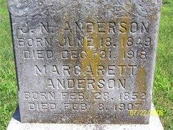 Hannah Margaret <i>Marks</i> Anderson