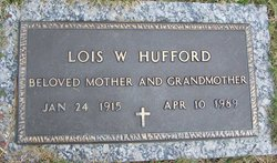 Lois Winters <i>Caldwell</i> Hufford