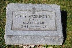 Elizabeth Bedinger Betty <i>Washington</i> Craig
