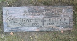 Betty Patricia <i>Finstad</i> Anderson