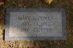 Mary Elizabeth <i>Thatcher</i> Gowen