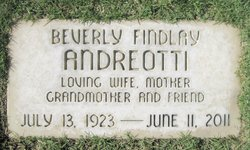 Beverly Findley <i>Nielsen;</i> Andreotti