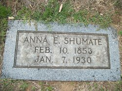 Anna Eliza <i>Oliver</i> Shumate