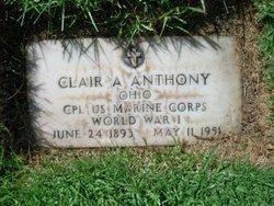 Corp Clair Algernon Anthony