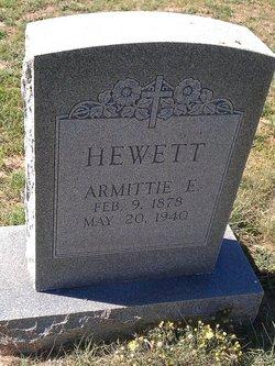 Armittie Evergreen <i>Peugh</i> Hewett