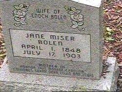 Jane <i>Miser</i> Bolen