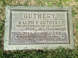 Ralph Perry Guthery