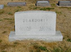 Alberta Blanche <i>Jones</i> Deardorff