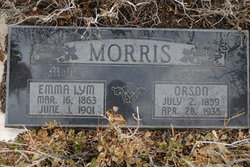 Emma <i>Lym</i> Morris