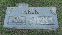 Edna Edith <i>Arnett</i> Akin