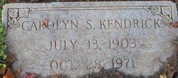 Carolyn S. Kendrick