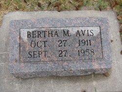 Bertha Irene M. <i>Carlson</i> Avis