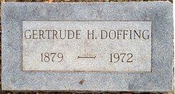 Gertrude H Doffing