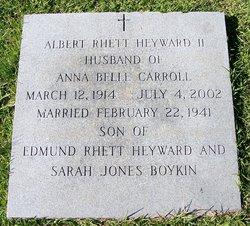 Albert Rhett Heyward, II