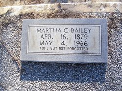 Martha Caroline Mattie <i>Harbuck</i> Bailey