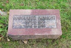 Marguerite <i>Blum</i> Albright