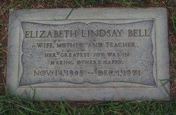 Elizabeth <i>Lindsay</i> Bell