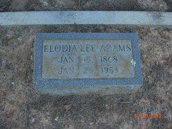 Elodnia Lee Adams