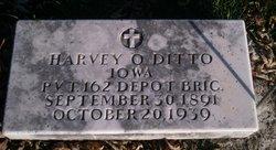 Pvt Harvey O Ditto