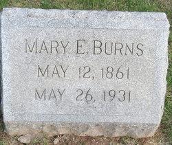 Mary E Burns